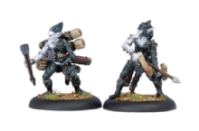 Legion Everblight Blighted Archer & Ammo Porter (2)